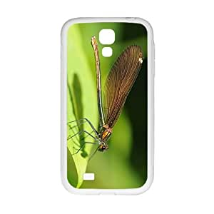 Green Dragonfly Hight Quality Plastic Case for Samsung Galaxy S4