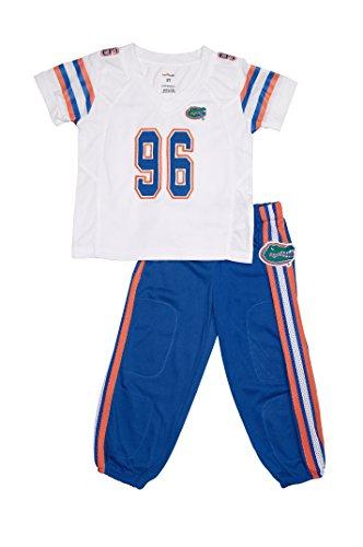 FAST ASLEEP Florida Gators Away Uniform Pajama Set New