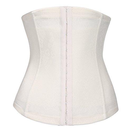 luxilooks Women's Lace Bodyshaper Corset Body Briefer Bodysuit Slimming Shapewear ()