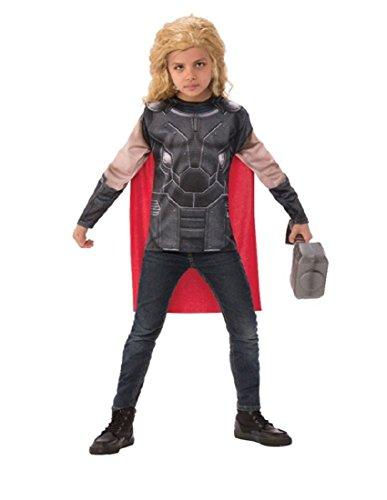 Thor: Ragnarok Thor Child's Costume Top & Cape Set, Medium