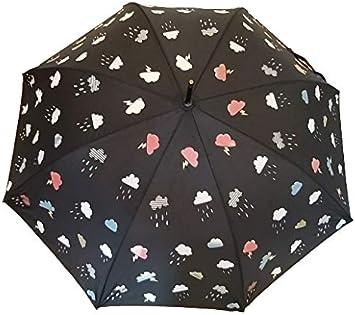 Goods4good Paraguas que cambia de color con la lluvia/ agua, para ...