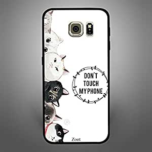 Samsung Galaxy S6 Cats Dont Touch my Phone