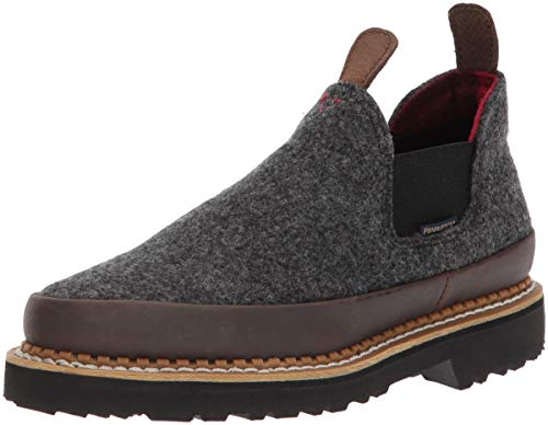 Georgia Boot Womens Romeo Loafer, Charcoal Grey-1, 9.5 Medium US