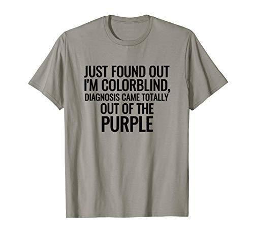 Color Blind Shirt Colorblind Funny Gift