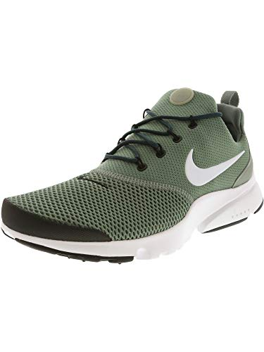 Nike Men's Presto Fly Clay Green/White - Black Ankle-High Mesh Running Shoe ()