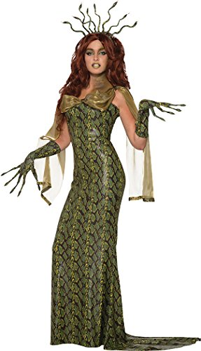 (Bristol Novelty Ladies Halloween Deluxe Medusa Costume, UK Size)