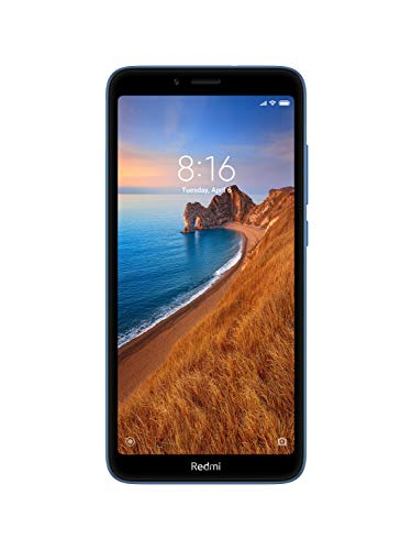 Redmi 7A (Matte Blue, 2GB RAM, 16GB Storage) - Extra 500 cashback as Amazon Pay Balance on Pre-Paid...