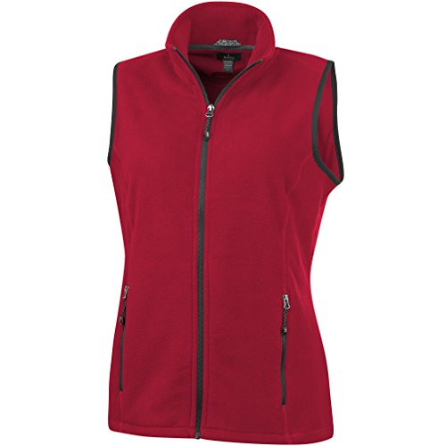 para Tyndall Chaleco Mujer Elevate Rojo Micro Tejido Polar dPwqXq5