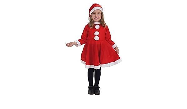 LLOPIS - Disfraz Infantil mamá Noel t-m: Amazon.es: Juguetes ...
