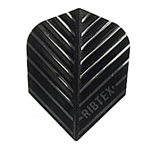 US Darts - 1 set  Ribtex Black, Standard Dart Flights
