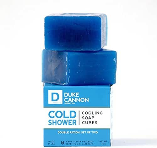Duke Cannon Cold Shower Cooling Soap Cubes, 7 Ounce