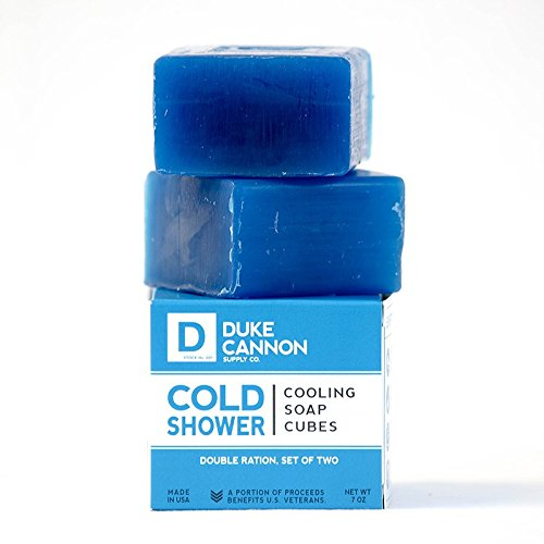 Price comparison product image Duke Cannon Cold Shower Cooling Soap Cubes, 7 Ounce