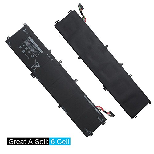 SWEALEER Compatible 6GTPY Battery if Applicable Dell XPS 15 9560 9550 Precision 5510 5520 M5520 Replacement for 5XJ28 i7-7700HQ 5D91C Laptop [Li-ion 6 Cell 11.4V 97Wh 18 Months Warranty 6GTPY] by SWEALEER (Image #2)