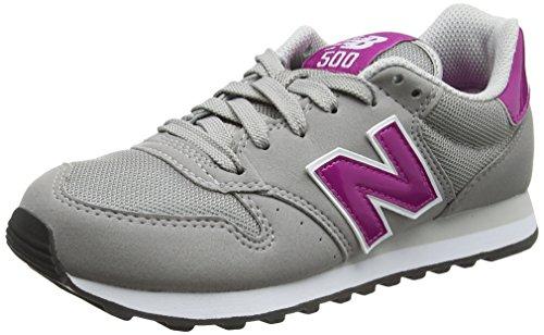 Shoes New Balance W 500 (GW500PG) Gris / Fucsia