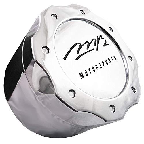 MB Motorsports Wheels Chrome Custom Wheel Center Cap BC-671B / BC-671 8-Lug Cap MED 3