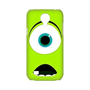 3D film Monsters University Mike and Sulley Case for SamSung Galaxy S4 mini 3D Hard Plastic Shell Cover(HD image)