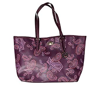 Michael Kors Bag For Women,Plum - Tote Bags