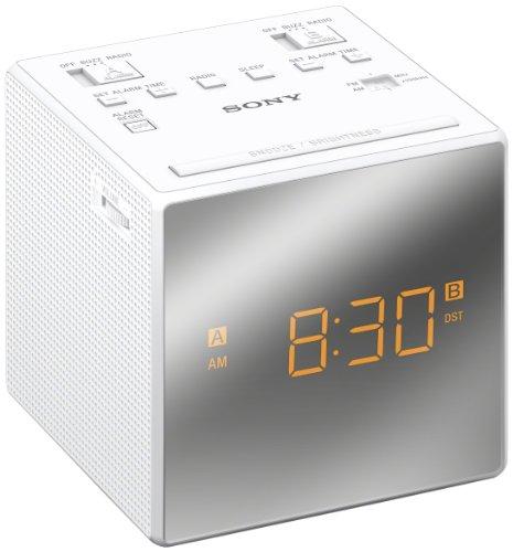 UPC 027242874893, Sony ICFC1T Dual Alarm Clock Radio, White