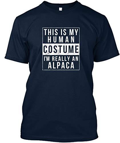 Alpaca Halloween Costume Shirt. 2XL - New Navy Premium Tee - Premium Tee ()