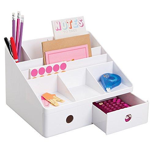School supplies organization for Tisch organizer design