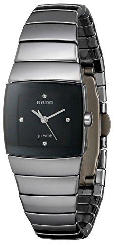 Rado Women's R13780702 Sinatra Black Dial Watch