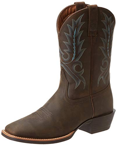 (Ariat Men's Sport Outfitter Western Cowboy Boot, Distressed Brown, 10 M US)