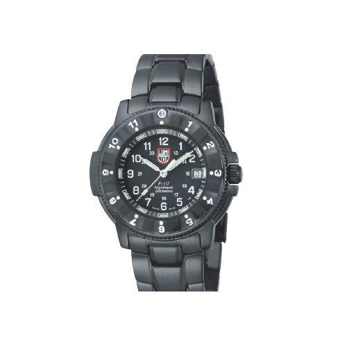 Luminox LU3402 - Reloj para hombres, correa de acero inoxidable color negro: Amazon.es: Relojes