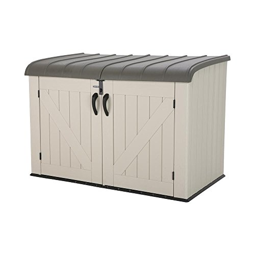 Lifetime Products Lifetime 60170 Horizontal Storage Box, Tan