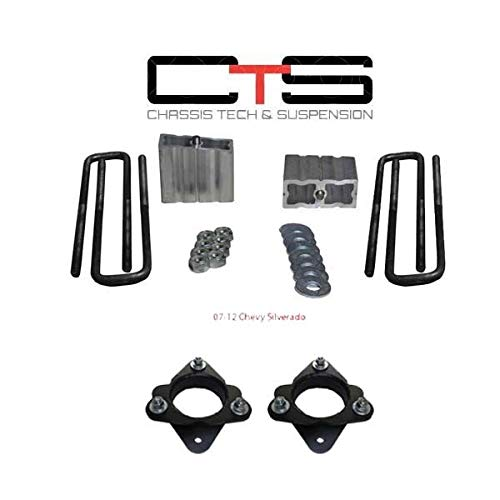 Chassis Tech 2007-up Chevy/GMC Silverado/Sierra 1500 3'' Front + 1.5'' Rear Lift Kit 2WD PRO by Chassis Tech