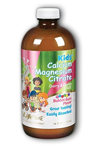 LIFETIME Kids Liq Cal Mag Bubblegum Flv, 16 ()