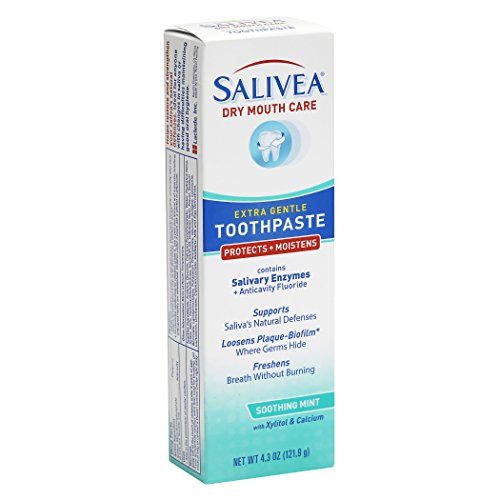 - Salivea Dry Mouth Toothpaste with Xylitol