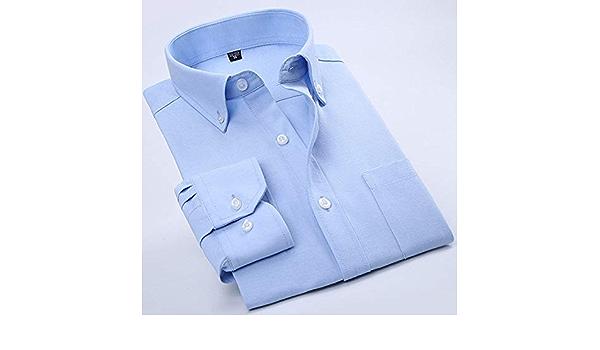 CUIAIDING Camisa Nuevo Algodón Oxford Hombre Camisa de Vestir ...
