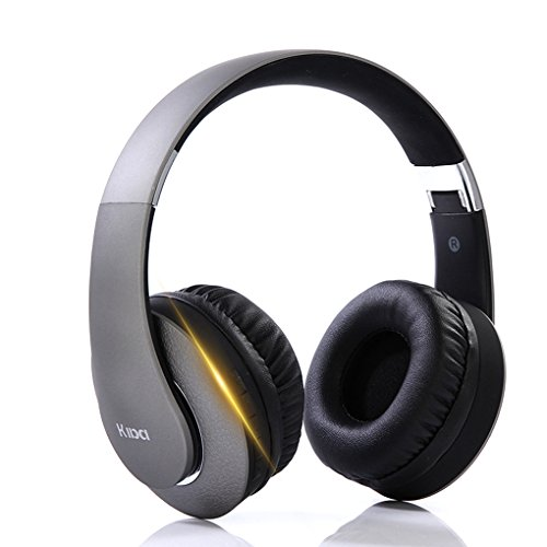 Bluetooth Over Ear headphones with Microphone Hi-Fi Deep Bass Wireless Headphones,Comfortable Protein Earpads,8H Calling Time for TV Computer Iphone