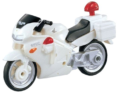 Takara Tomy Tomica #004 Honda VFR White Bike