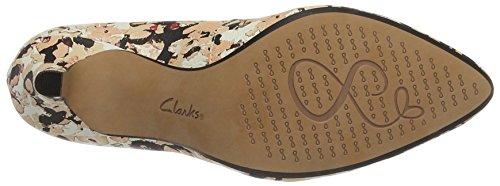 Clarks 261230234, Zapatos de Tacón Mujer Multicolor (Floral Camo)