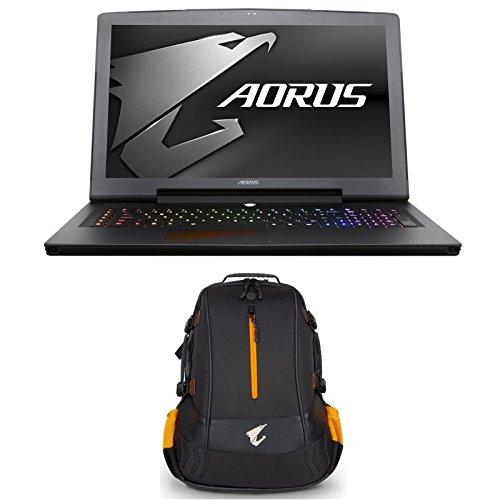 AORUS X7 v7-KL4K4D (i7-7820HK, 16GB RAM, 512GB NVMe SSD + 1TB HDD, GTX 1070 8GB, 17.3