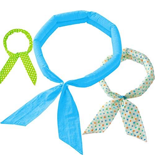[해외]여름 스카프 냉 스카프 아이스 스카프 여름 스카프 쿨 워터 밴드 쿨 다운 (3 색) / Summer scarf cooling scarf ice scarf cool water band cool down (three colors)