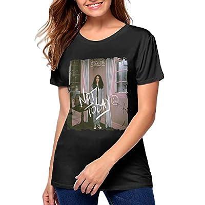 Women's 3D Print Alessia Cara Short Sleeve Tops Tee Ladies Summer Casual Shirt