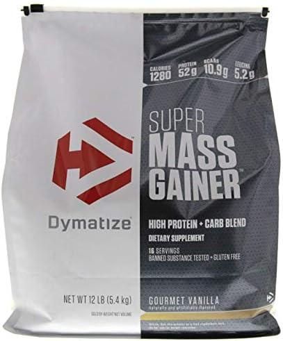 Dymatize Super Mass Gainer, Vanilla, 1er Pack (1 x 5.443 kg)