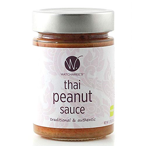 (Watcharee's Thai Peanut Sauce (Vegan) 11.75 Oz Jar)