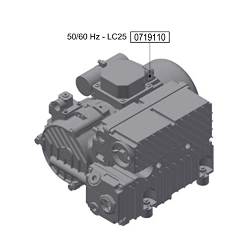 Vacuum Pump - Oil Cooled For Firbimatic, Union, Realstar dry cleaning machines #0719110
