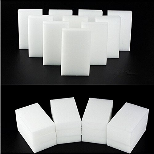 100 pcs/lot White Magic Sponge Eraser Melamine Cleaner,multi-functional Cleaning 100x60x20mm Wholesale & Retial
