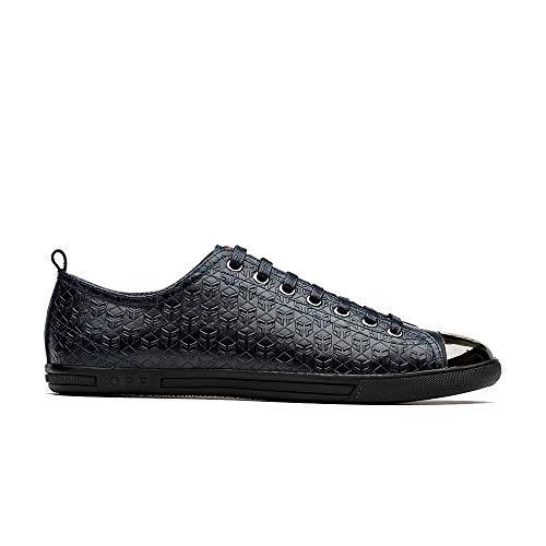 OPP Men's Classic Casual Lace-Up Sneaker Shoes Blue 11.5 D(M) US