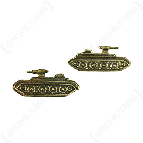 Epic Militaria Replica WW2 Soviet Armoured Troops Badges - Pair ()