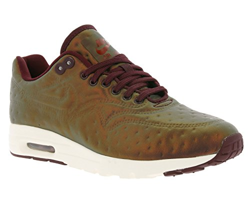 Nike Womens Air Max 1 Jcrd Running Trainers 819808 Sneakers Scarpe Mogano Metallico / Notte Marrone