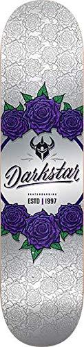 Skate Darkstar - Darkstar DST in Bloom Skate Deck-8.0 Silver w/Mob Grip