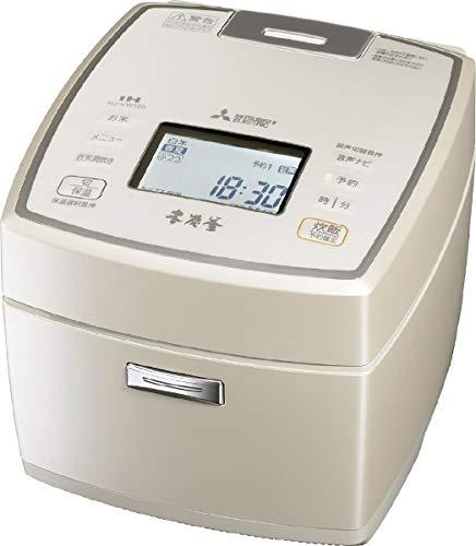 三菱 IHジャー炊飯器(5.5合炊き) 白和三盆MITSUBISHI 本炭釜 NJ-VW109-W B07H9PGQ65