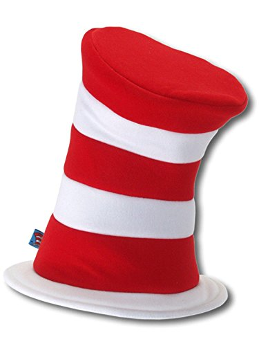 Cat In The Hat Halloween Costume (elope Dr. Seuss Cat in the Hat Deluxe Velboa Hat)