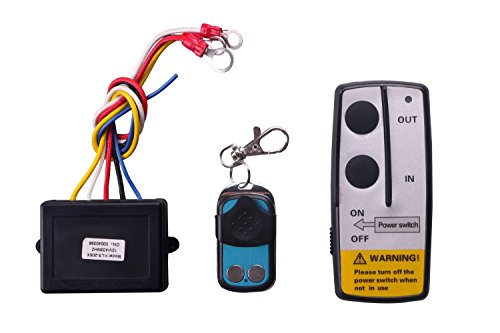 LIEBMAYA Wireless Winch Remote Control Kit for Truck Jeep ATV SUV 12V Switch Handset
