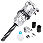 Goplus 1″ Air Impact Wrench Gun Heavy Duty Long Shank Commercial Truck Mechanics w/Case